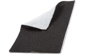 20 x universal fettfilter kohlefilter aktivkohle vlies filter