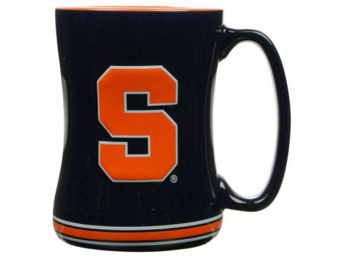 Syracuse Orange Kaffeetasse Linderung Geformt Team Farbe Logo 414ml NCAA Neu