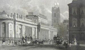 Collection Ici Londres Bank Of England Original-vue 1836 Art Institut Hildburghausen-ht 1836 Kunstanstalt Hildburghausen Fr-fr Afficher Le Titre D'origine Mode Attrayante