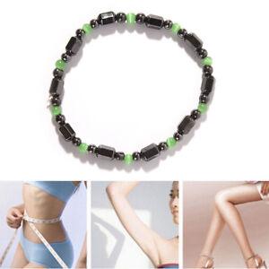 1X-Magnetische-Armband-Perlen-Haematit-Stein-fuer-Therapie-Gesundheitswesen-FXJ