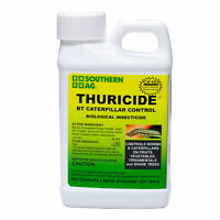 Southern Ag Thuricide Bt Caterpillar Control 8 Oz Bacillus Thuringiensis 98.35%