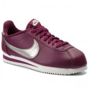 Details about NEW Nike Classic Cortez Women's Premium Sneakers Bordeaux 905614 601 Size 7.5