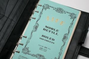 Japan-Life-Noble-A6-size-6-hole-personal-planner-organizer-refill-ruled