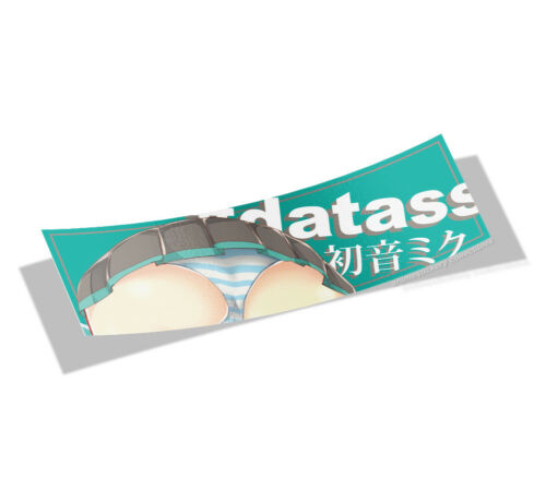 Vocaloid Hatsune Miku Anime Decor Vinyl Laminate Slap Stickers