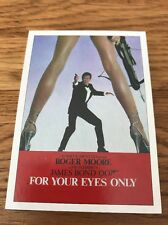 James Bond 007 Archives Final Edition For Your Eyes Only Lot 33 Cards, Details