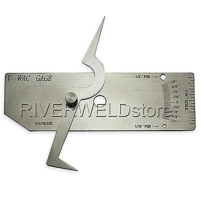 V-WAC Single Weld Gage Inch Inspection Gauge