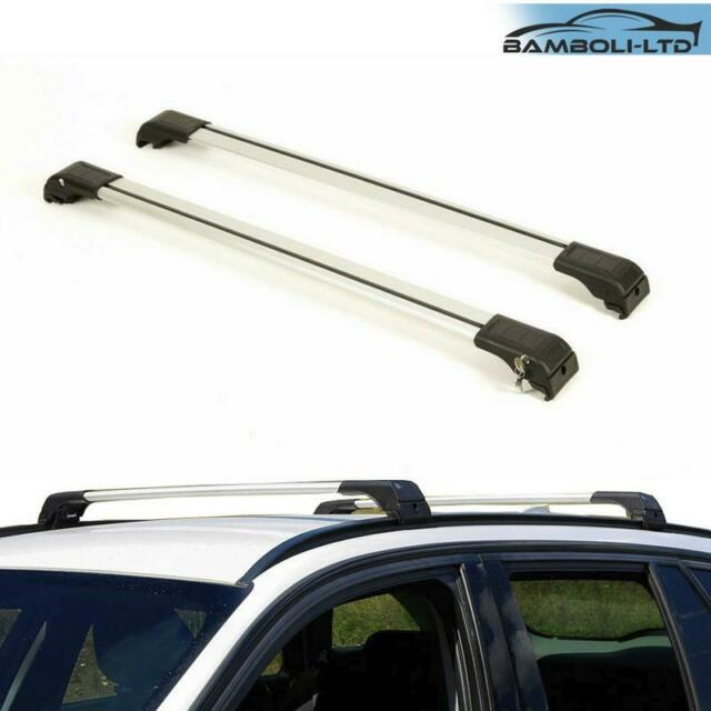 Black Roof Rack Rails Side Bars To Fit L1H1 T5 Transporter 2003-15