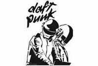 Sticker Déco Autocollant Vinyle Adhésif Groupe Daft Punk