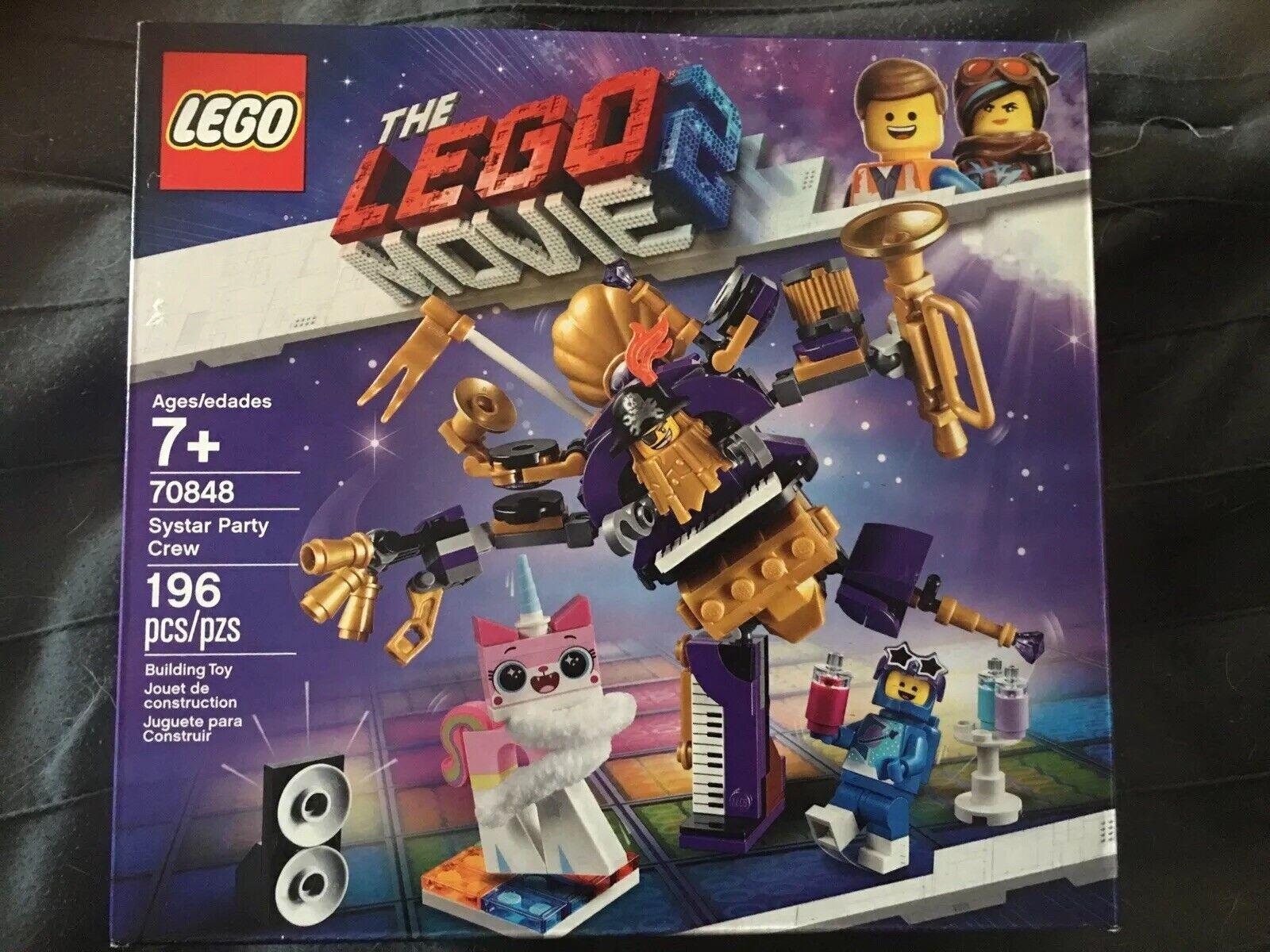 Lego la película 2 syEstrella Fiesta Crew 70848 Envío Gratis-envío Inmediato
