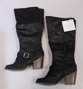 Larissa Wide Calf Boot TM8 Black Size