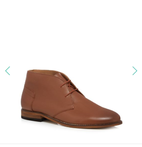 Boots pelle 95 chiaro in By marrone H Hudson Chukka Boots nTqwIO