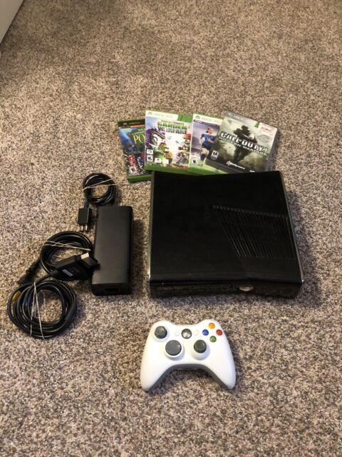 Microsoft Xbox 360 Slim Console - Black for sale online | eBay