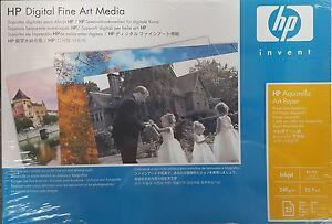 HP-AQUARELLA-DIGITAL-FINE-ART-A3-PAPER-25-SHEETS-Q8730A-NEW-BOXED