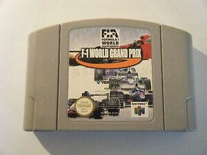 F1-World-Grand-Prix-Nintendo-64-Cartouche-Seule-Occasion