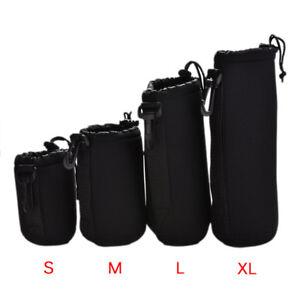 Neoprene Waterproof Soft Camera Lens Pouch Storage Bag Case Size- S M L_t