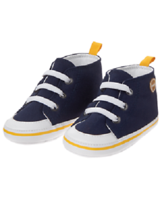 Gymboree-Purrfect-Prep-Football-Navy-Blue-Shoes-Infant-Baby-Boy-Size-4-NEW
