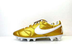 La-NIKE-premier-II-2-FG-Chaussures-De-Football-Gold-UK-5-5-EUR-38-5-US-6-917803-919