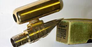 Vintage Otto Link Florida 6 Métal Ténor Sax Mouthpiece-afficher Le Titre D'origine Service Durable
