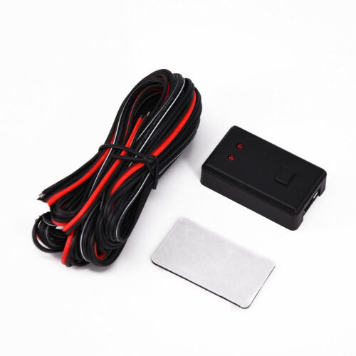 Sticker Strobe Controller Kit 10 Modes 48W ABS Cable Bundle Universal Car LED