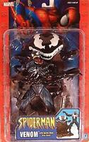 Spiderman Classics - Venom Reissue With Spider-man Trap Base By Toy Biz (moc)