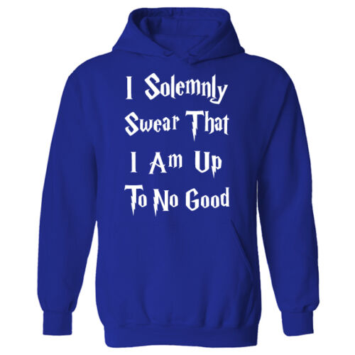 I Solemnly Swear I Am Up To No Good Unisex Pullover Hoodie NEW UK 8-20 XS-XXL