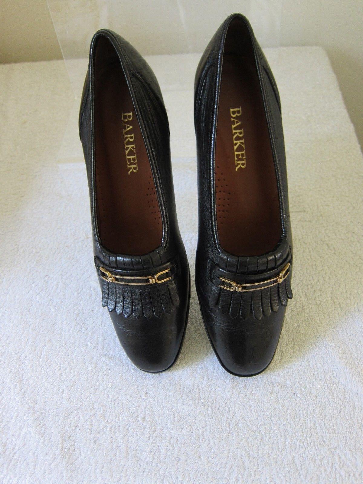 Barker England Rita Womens Shoe in Black Size 4-4.5  RRP £80