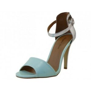 d73b7b26234f Image is loading WOMENS-FASHION-STRAPPY-STILETTO-HI-HEEL-SANDALS-SHOES-