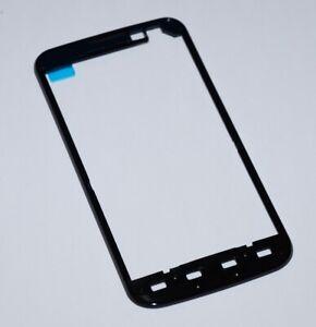 Original-LG-E455-Optimus-L5-II-Dual-Gehaeuse-Rahmen-Front-Cover-Frame-Schwarz