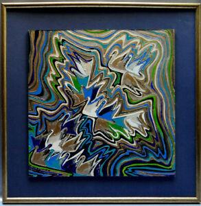 Ancien-tableau-composition-mixte-abstraite-aux-cygnes-constructivisme-signe