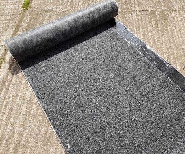 Black Mineral Felt Torch on SBS Roofing IKO Capsheet Cap Sheet 5 m x1m 4 kg