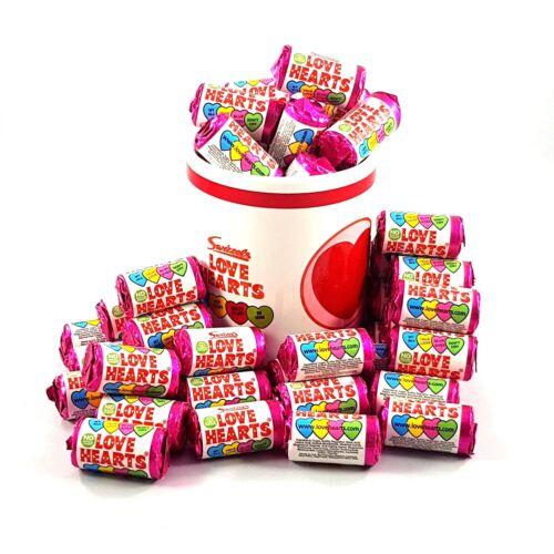 Swizzels® Personalised Love Heart Sweets Baby Shower Christening Food Hygiene