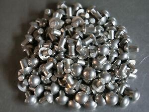 Solid Rivet 3//16 Dia x 1 1//2 Length Steel Coated Countersunk Head 10ea