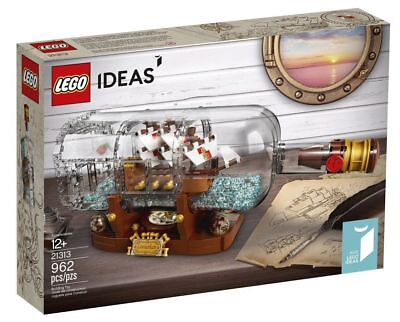 YEAR 2018 NEW // FACTORY SEALED LEGO® 21313 Ideas Ship in a Bottle