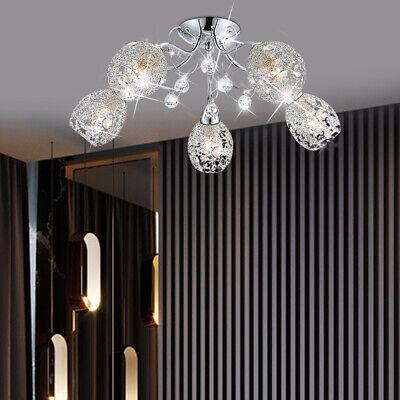 Kronleuchter Farbe Macarons LED Deckenleuchte Kreative Eisen Kunst G o ometrische Halle Wohnzimmer Balkon Deckenleuchte Kronleuchter Mode Farbe: Grau, Gr/ö/ße: 42 * 42 * 6 cm
