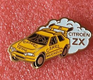 Pins-Voiture-CITROEN-ZX-RALLY-Camel-Michelin-Total