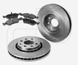 2-Bremsscheiben-und-4-Bremsbelaege-OPEL-Vectra-A-vorne-Vorderachse256-mm-beluefte