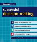 Successful Decision-making by Ken Lawson (Paperback, 2009)