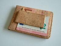 PREMIUM QUALITY NEW LEATHER MONEY CLIP & CREDIT CARD HOLDER WALLET SLIMLINE