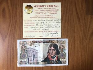 BANCONOTA-BANCA-DI-FRANCIA-100-NOUVEAUX-FRANCHI-NAPOLEONE-E-3-12-1959-E-RARA-BB