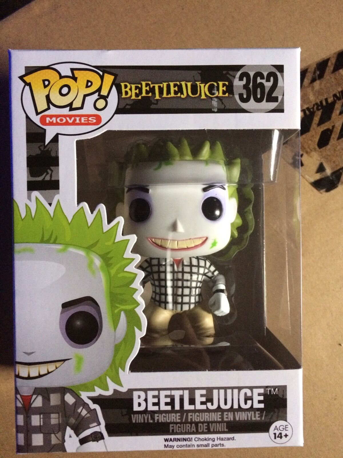 Bettlejuice Casual  Funko Pop Vinyl