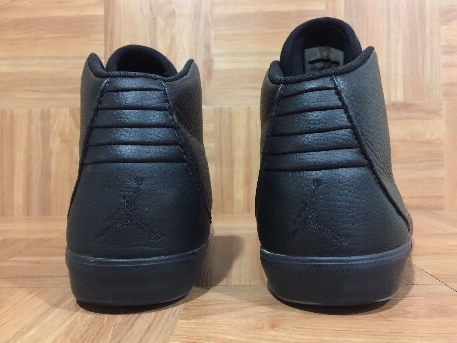 timeless design 1d6d5 552a0 ... RARE Nike Air Jordan Jordan Jordan V.9 Grown Mid Black Leather shoes Sz  10 ...