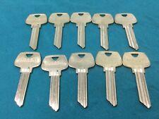 Sargent Original Lh Keyway Key Blanks Set Of 10 Locksmith