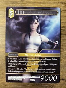 Final Fantasy TCG Opus 11 XI Tifa 11-071L Non-Foil Legend Trading Card VII 7