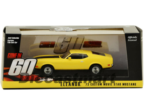 1973 Ford Mustang Mach 1 Eleanor Gone en 60 Sixty Segundos 1:43 Greenlight