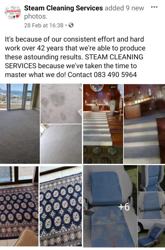 Steam Cleaning Services (Pty) Ltd