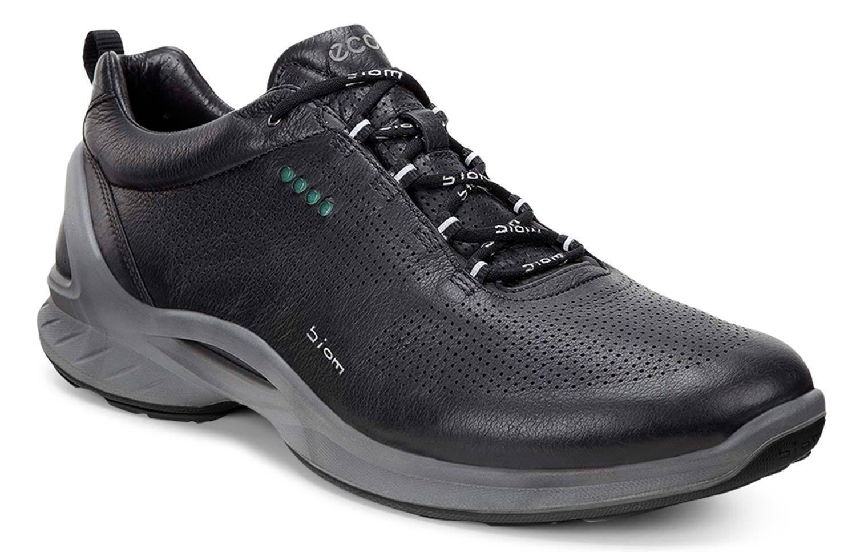 Ecco Biom Fjuel Unisex scarpe da ginnastica scarpe da ginnastica Basse 837514 01001 Nero Nero Nuovo