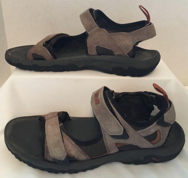 aced877590da TEVA Sport Sandals Shoes Sz 12 Tan Khaki Suede