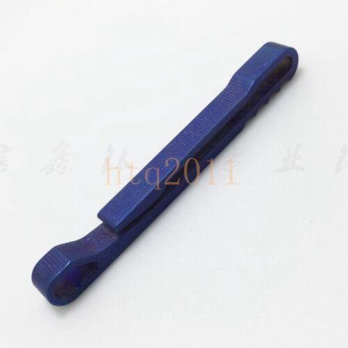 EDC gear Titanium TC4 Pocket Key Chain Belt Clip Molle Pocket Multi Tool CNC