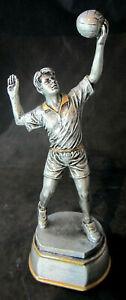 1x-Volleyball-Pokal-Pokale-26-5-cm-inkl-Gravur-gold-silber-Volleyballmann