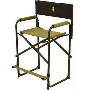 Image Is Loading Portable Folding Directors Chair Lightweight Tall Aluminum  Executive